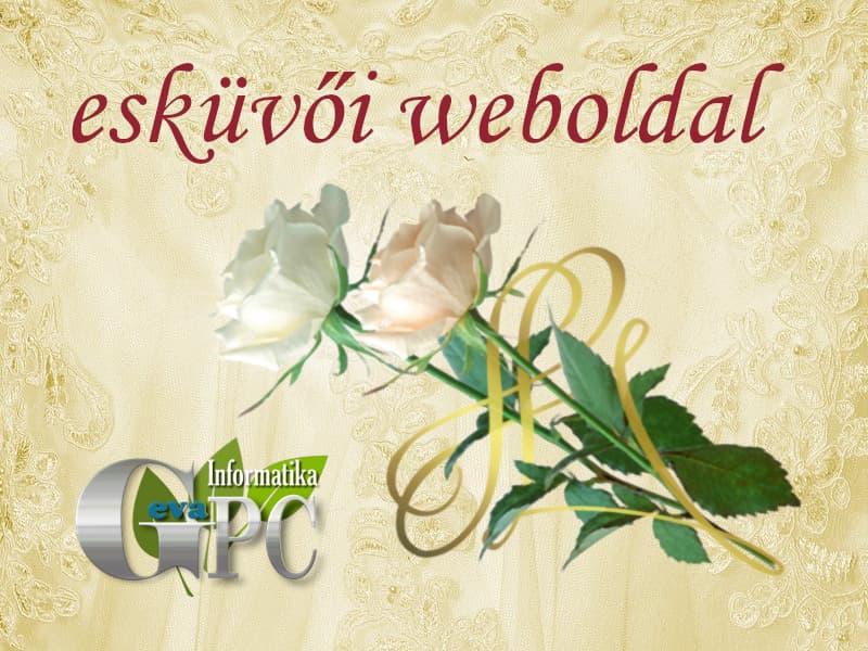 Esküvői weboldal készítés - GevaPC