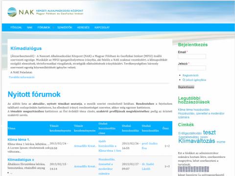 NAK Klímadialógus - GevaPC fejlesztés, GevaPC smink