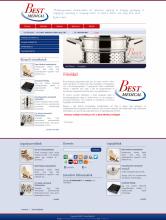 BestMedical nyitóoldal - GevaPC honlap és smink