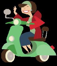 Vénusz smink ihletője - vidám, könnyed, motoros nő