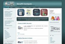 GevaPC Tudástár - GevaPC Drupal honlap és smink