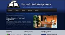 Korszak iskola - GevaPC Drupal honlap és smink(tervezet)