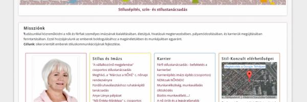 Stíl-Konzult Kft honlapja - GevaPC fejlesztés és smink, verzió konvertálással