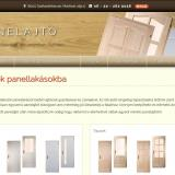 Beltéri panelajtók, ajtó típusok
