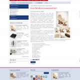 BestMedical termék oldal - GevaPC honlap és smink