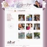 Ági és Gergő esküvői honlap - fotó galériák, GevaPC honlap és smink