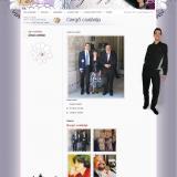 Ági és Gergő esküvői honlap - vőlegény oldali sminkkel, GevaPC honlap és smink