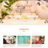 Esküvői weboldal fotógalériája, videó galériája