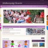 Jótékonysági árverés - Vigyázókéz Gyermekvédelmi Egyesület, GevaPC fejlesztésű honlap és smink