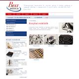 BestMedical - Katalógus alkategóriákkal - GevaPC honlap és smink