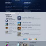 Korszak iskola belső oldal - GevaPC Drupal honlap és smink
