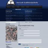 Korszak iskola - GevaPC Drupal honlap és smink - Kapcsolat űrlap oldala