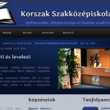 Korszak iskola - GevaPC Drupal honlap és smink(tervezet)