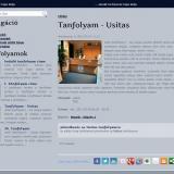 Korszak iskola - GevaPC drupal honlap és smink -Tanfolyam oldala a nyitható jelentkezési űrlappal