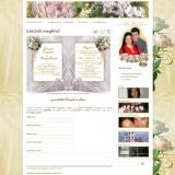 Kriszti és Laci esküvő - esküvői online meghívó