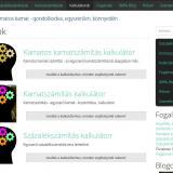 Százalék- és kamatszámítások - Online kalkulátorok