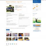 TURBO Autósiskola honlap - Tanfolyam oldala