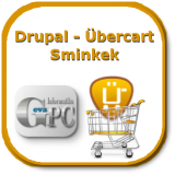 Drupal honlap Ubercart webshoppal, sminkkel